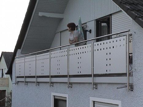schlosserei schleip balkongel nder bk05. Black Bedroom Furniture Sets. Home Design Ideas