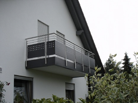 schlosserei schleip balkongel nder bk39. Black Bedroom Furniture Sets. Home Design Ideas