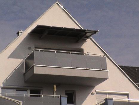 Balkonüberdachungen schlosserei schleip vordach tvd06