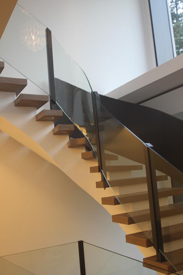 schlosserei schleip treppengel nder aus aluminium. Black Bedroom Furniture Sets. Home Design Ideas