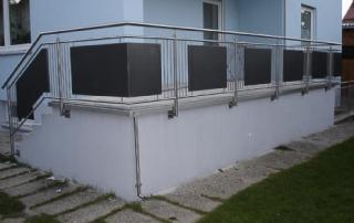 balkone und balkongel nder seite 5 schlosserei schleip. Black Bedroom Furniture Sets. Home Design Ideas