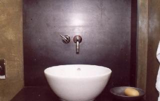 Waschbeckenrückwand