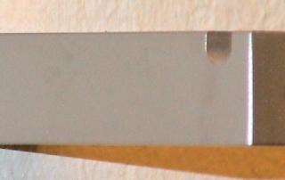 Kleiderhaken aus Edelstahl 1.4301, K240 geschliffen.
