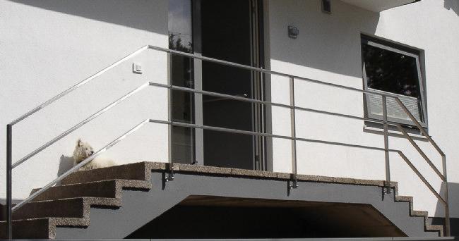 Treppengeländer, mitlaufend