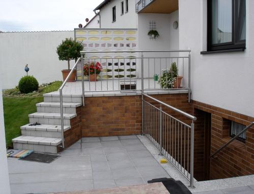 Treppengeländer im Aussenbereich – TG16