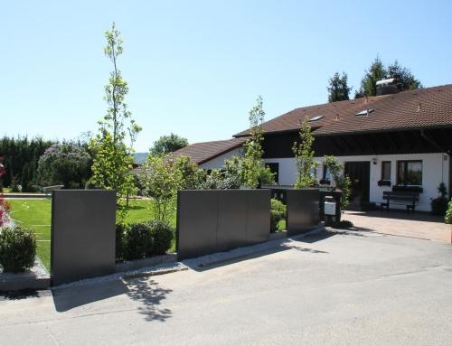Garten- bzw. Grundstückszaun – MZ04