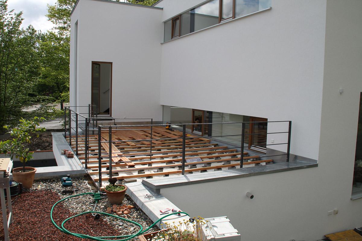 Terrassengeländer