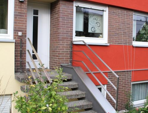 Treppengeländer im Aussenbereich – TGA17