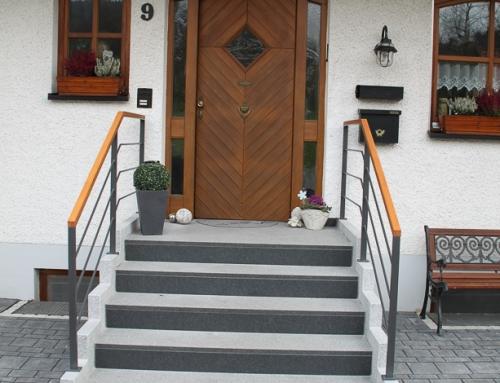 Treppengeländer im Aussenbereich – TGA18