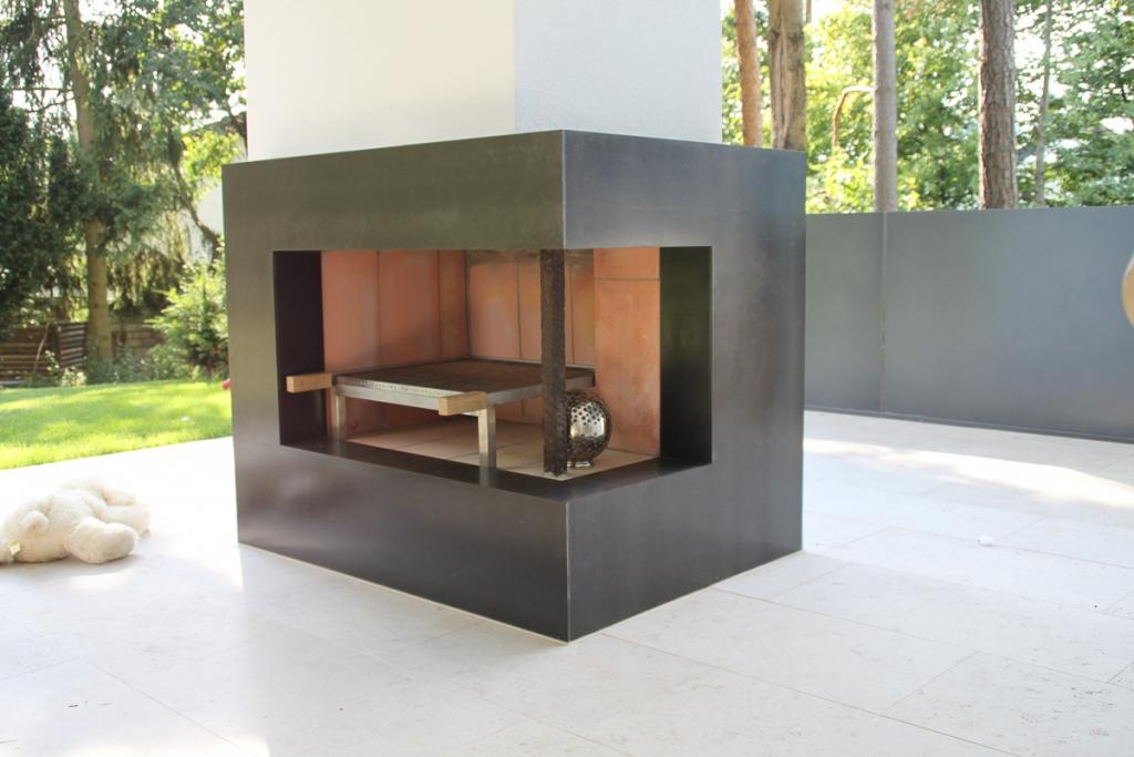 wohnaccessoires verblendung f r offenen kamin wa25 schlosserei schleip. Black Bedroom Furniture Sets. Home Design Ideas