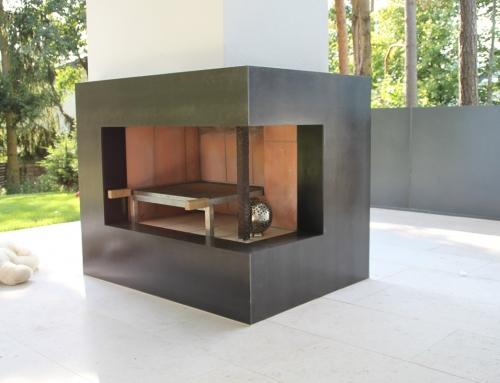 Wohnaccessoires – Verblendung für offenen Kamin – WA25