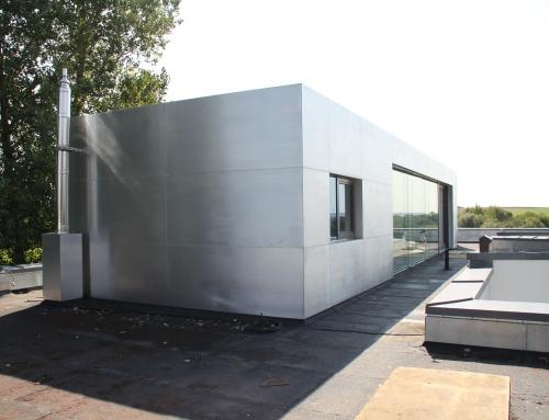Wandverkleidung aus Aluminium – DIV25
