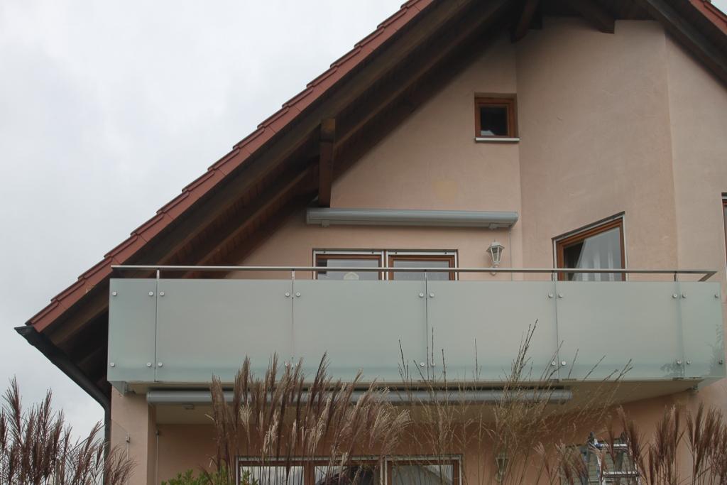 Balkongelander Edelstahl Glas Bk50 Schlosserei Schleip