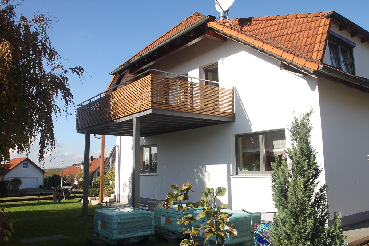 Balkonanlage